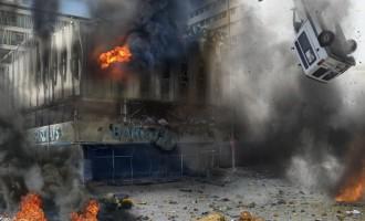 Un proyecto artístico incendiario: quemar los 20 mayores bancos del mundo