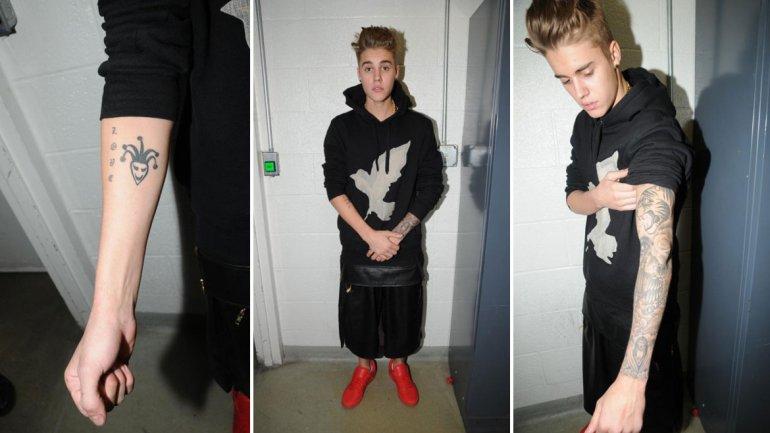 Divulgan Fotografias De Los Tatuajes De Justin Bieber