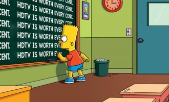 Así se ve la introducción de los Simpson en la vida real