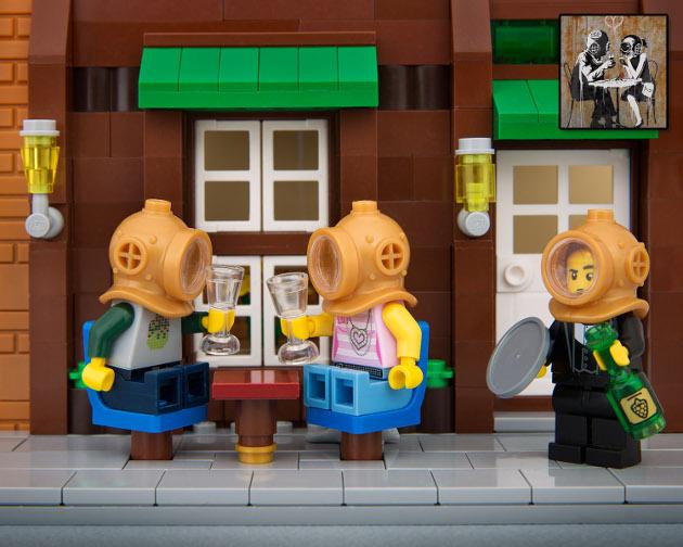 Lego-cafe-banksy-divers-bricksy