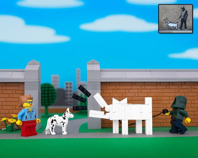 lego_banksy_haring_dog_bricksy