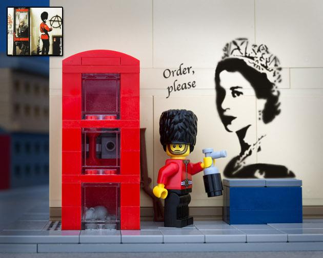 lego_bricksy_banksy_grafitti_royal_guard