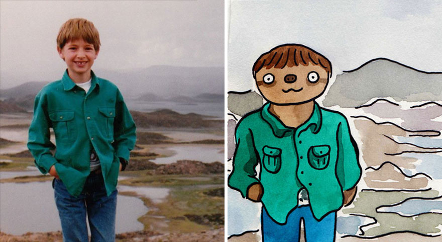 facebook-sloth-portraits-shitty-watercolour-5