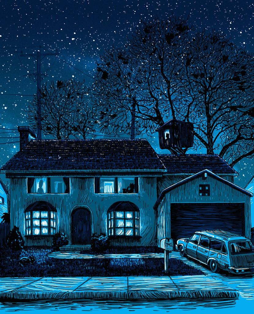 simpsons-springfield-night-illustrations-tim-doyle-1
