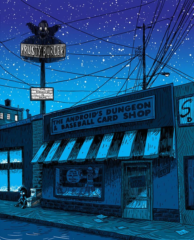 simpsons-springfield-night-illustrations-tim-doyle-4