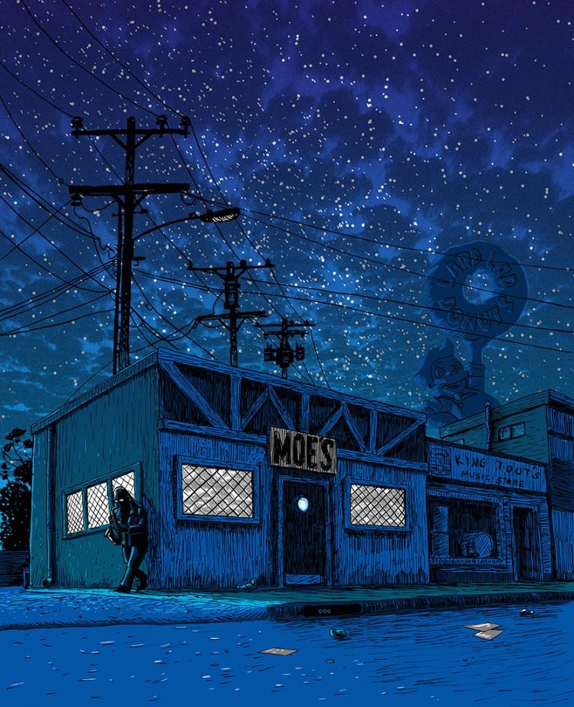 simpsons-springfield-night-illustrations-tim-doyle-6