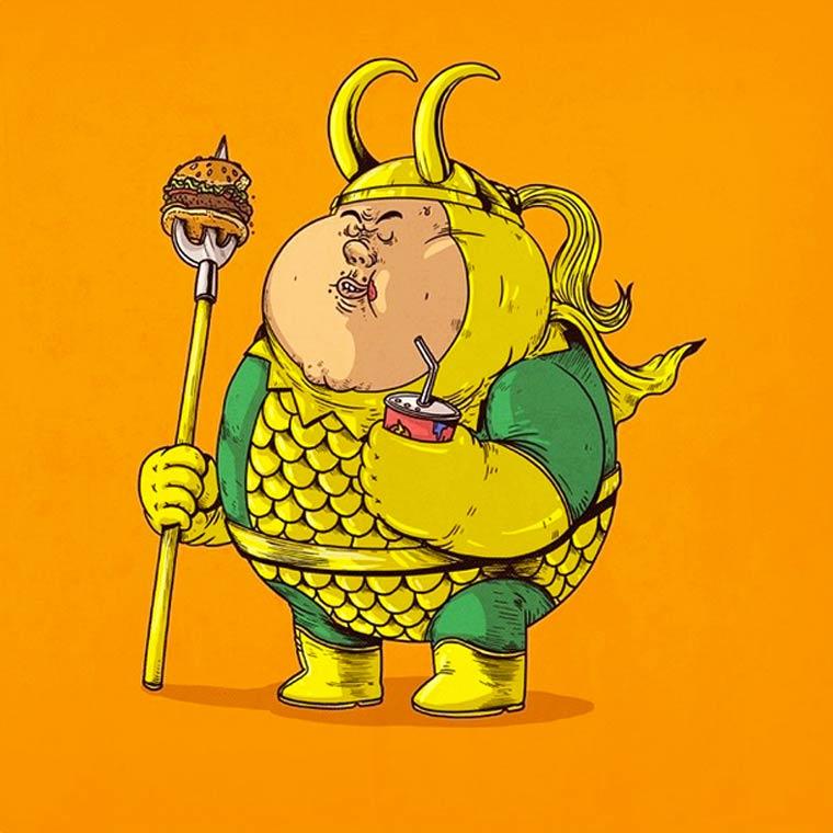Fat-Pop-Culture-Alex-Solis-illustration-1