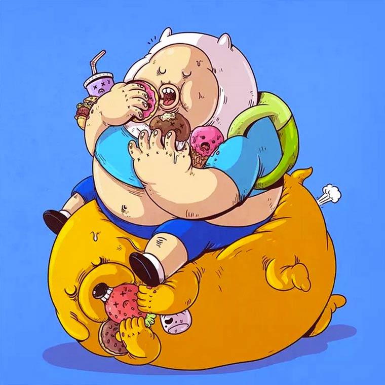 Fat-Pop-Culture-Alex-Solis-illustration-18