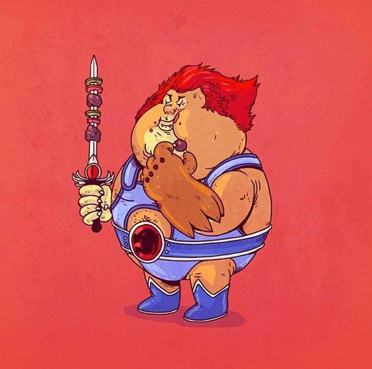 Fat-Pop-Culture-Alex-Solis-illustration-27