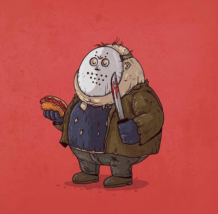 Fat-Pop-Culture-Alex-Solis-illustration-28