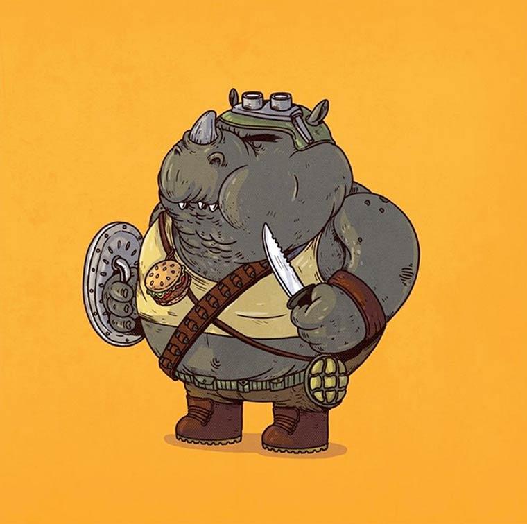 Fat-Pop-Culture-Alex-Solis-illustration-33