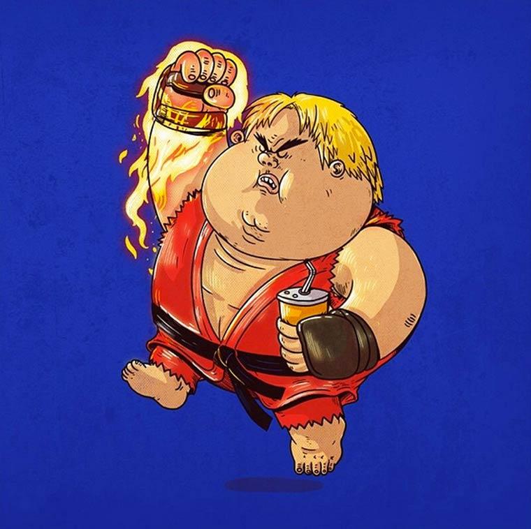 Fat-Pop-Culture-Alex-Solis-illustration-34