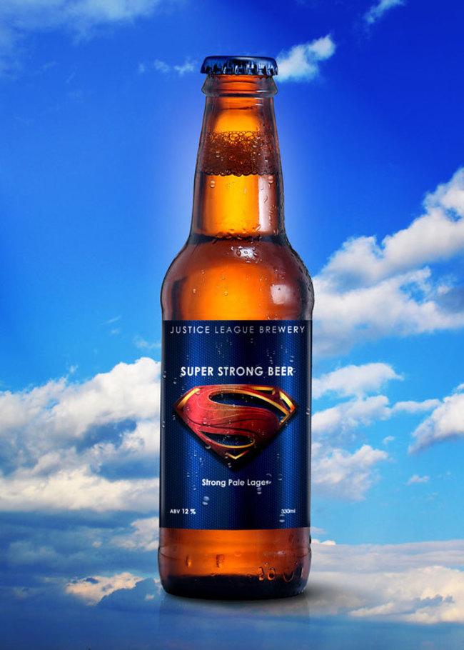 cervezas superheroes