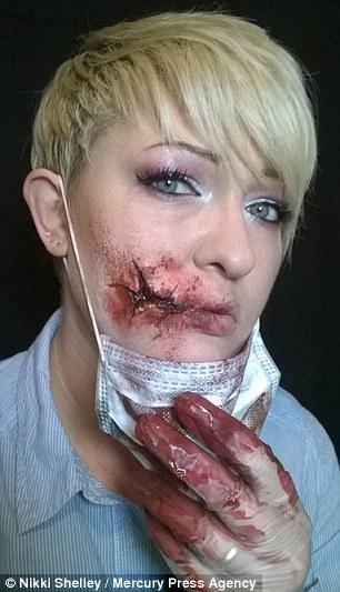 maquillaje terror 2