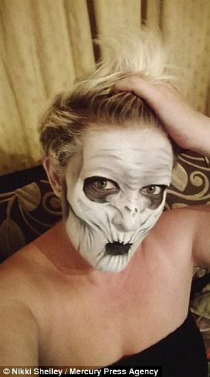 maquillaje terror10