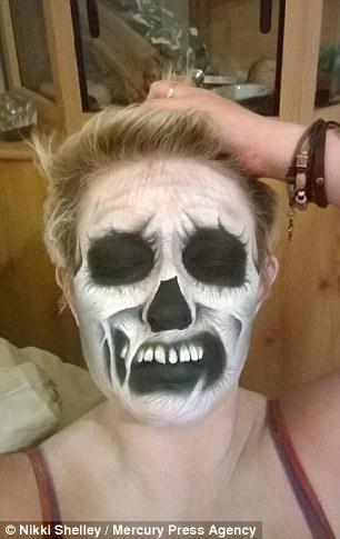 maquillaje terror8