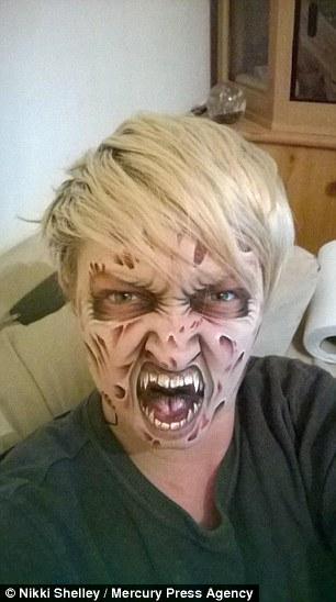 maquillaje terror9