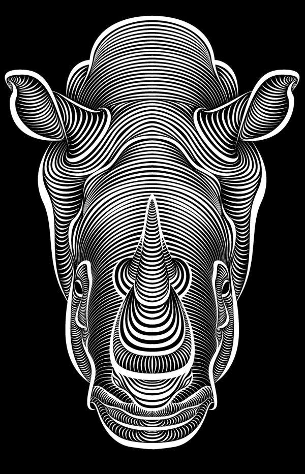 Line Art In Illustrator : Nada más que líneas los diseños digitales de patrick seymour