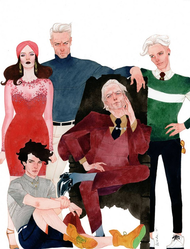 scarlett-witch-magneto-quicksilver-vision-bill-kaplan-these-amazing-high-fashion-x-men-could-not-be-any-hotter