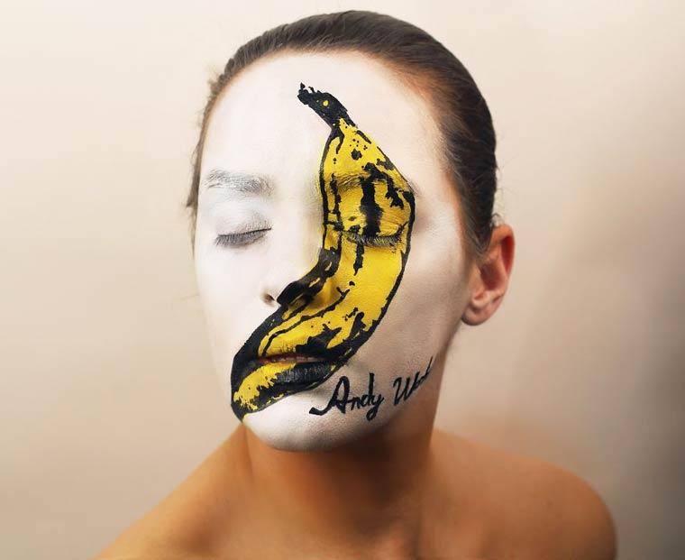 Natalie-Sharp-Album-Covers-body-painting-1