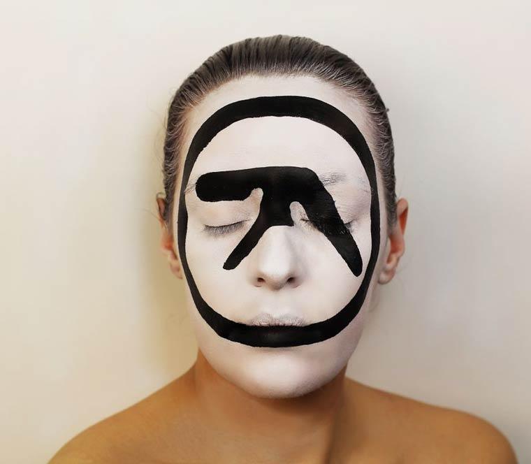 Natalie-Sharp-Album-Covers-body-painting-10