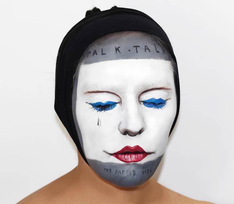 Natalie-Sharp-Album-Covers-body-painting-3