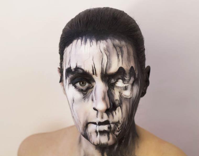 Natalie-Sharp-Album-Covers-body-painting-4