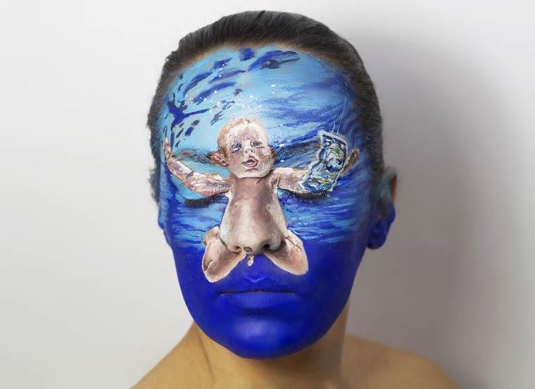 Natalie-Sharp-Album-Covers-body-painting-5