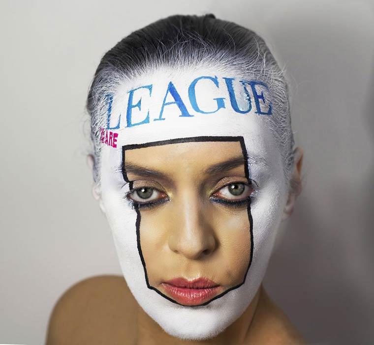 Natalie-Sharp-Album-Covers-body-painting-7