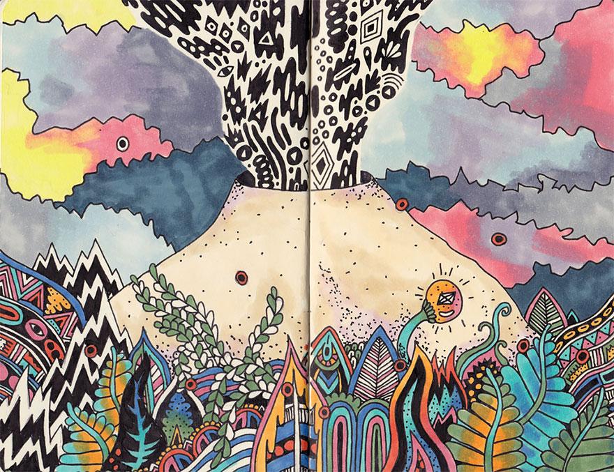 doodles-sketchbook-drawings-sophie-roach-71