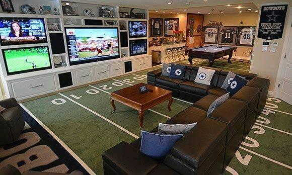 6 impresionantes cuartos de tv que son perfectos para los ...