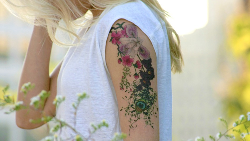 FlowerArmHeader
