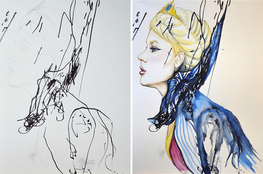 mom-turns-kid-doodles-into-paintings-9