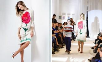 Esta fantástica colección de moda fue inspirada por los dibujos de niños sordos
