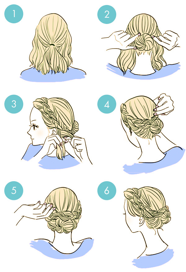 Simple-tutorials-to-style-hair-fringe5