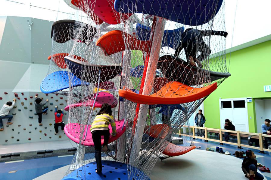 playgrounds flotantes