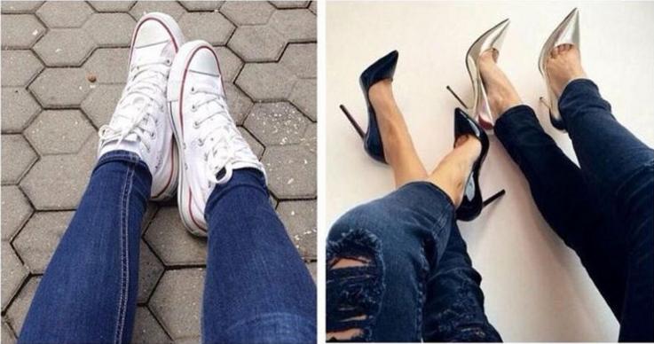 dos tipos de mujeres