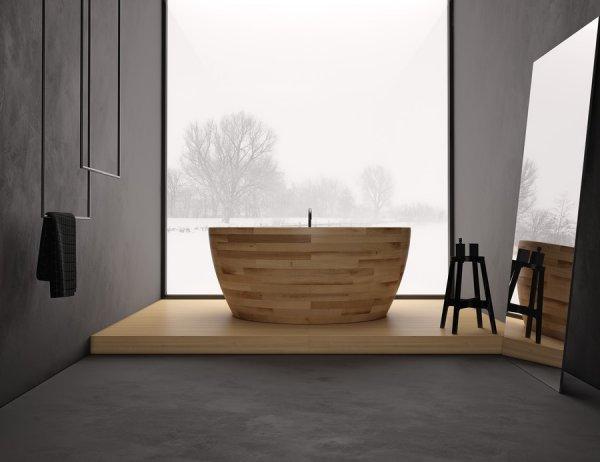 baño paisaje