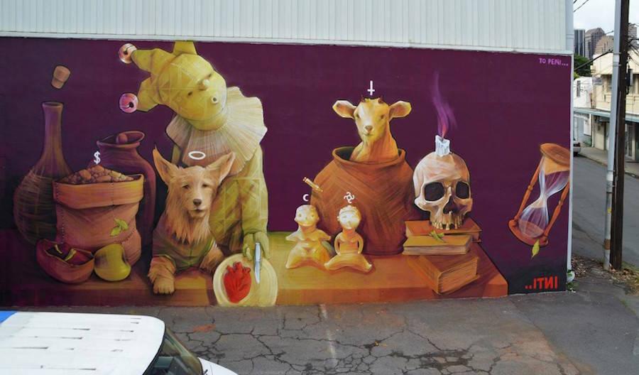 INTI Mural