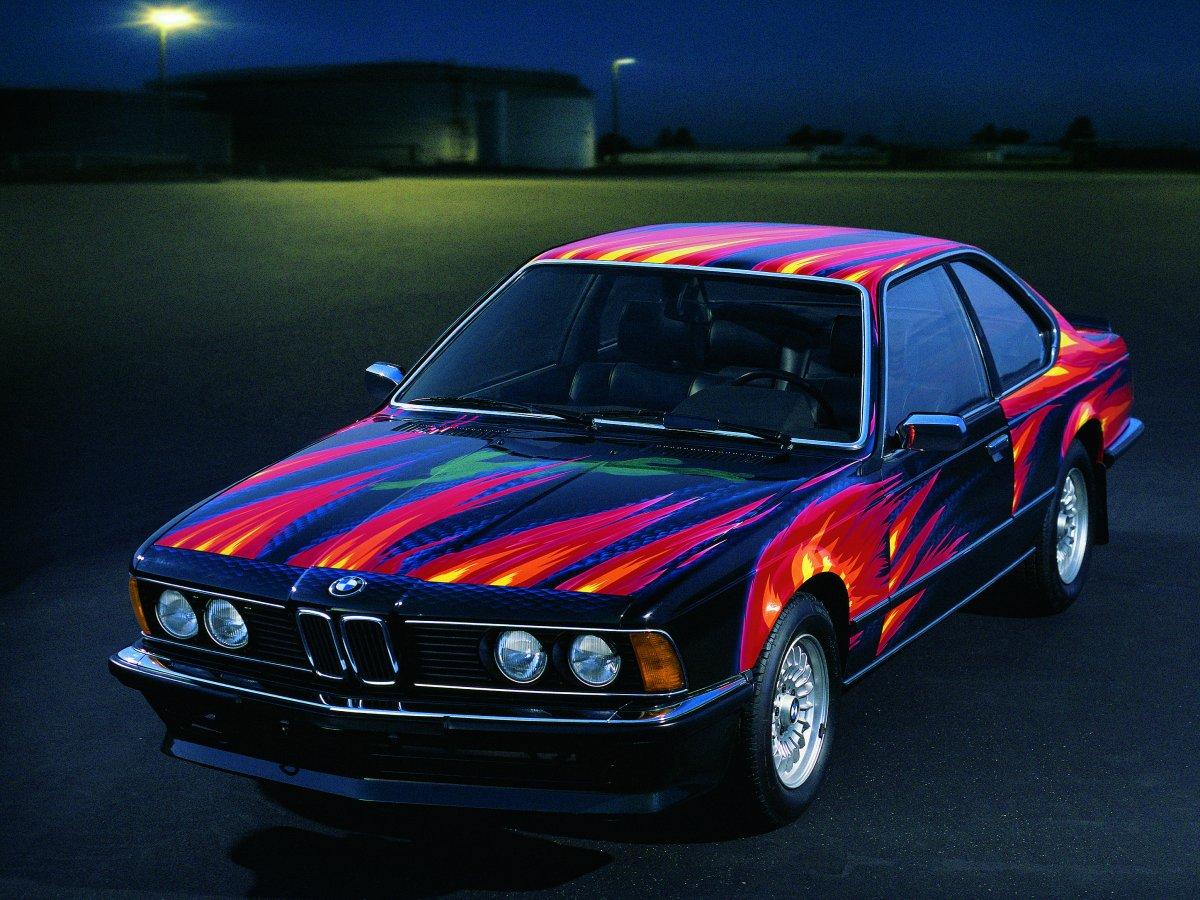 ernst-fuchs-called-his-1982-635-csi-art-car-fire-fox-on-a-hare-hunt