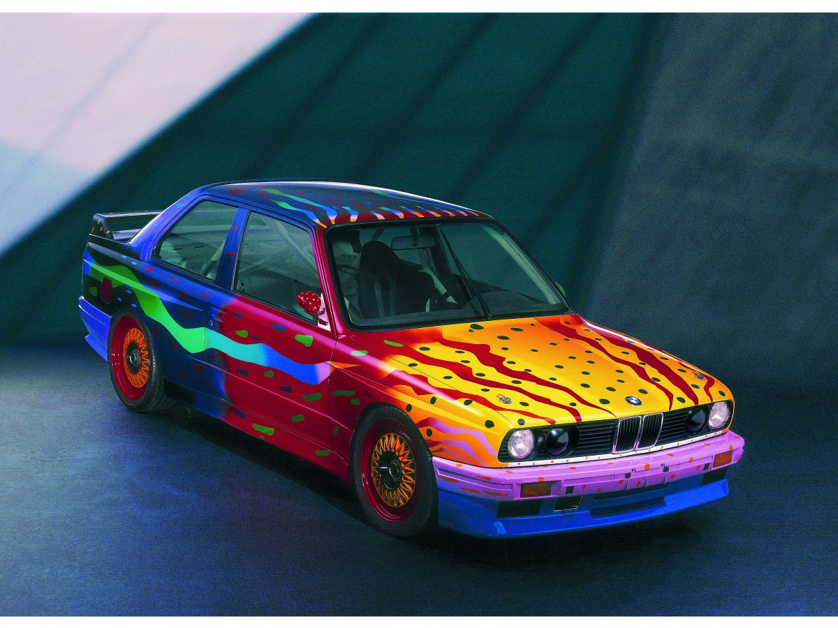 the-1989-ken-done-m3-group-a-art-car-was-painted-to-represent-the-artists-birthplace-australia-and-the-beaches-and-different-scenery-that-exists-there